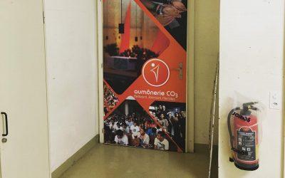 Inauguration de la salle CO3