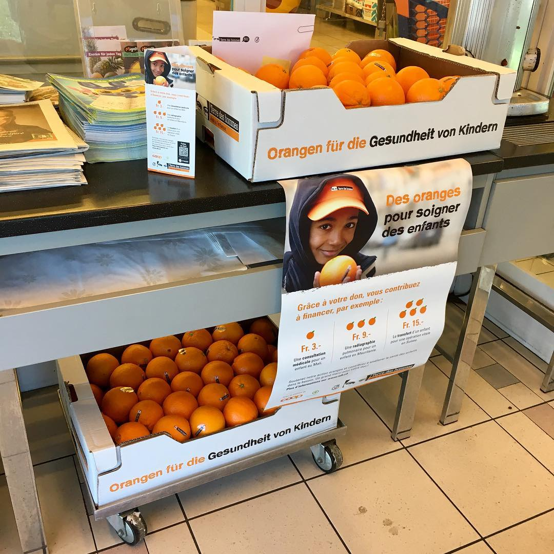 Vente des Oranges